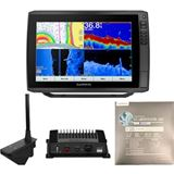Garmin ECHOMAP Ultra 126sv with LiveScope and LakeVu g3 Ultra East Bundle